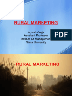 Rural Marketing Lecture