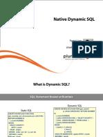 4 Oracle Plsql Transactions Dynamic SQL Debugging m4 Slides