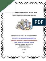 Desarrllo Del Colorante Directo Del Algodon_g_4b Hallasi Amelia