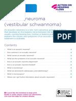 Factsheet Acoustic Neuroma