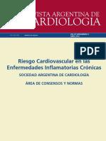 Riesgo Cardiovascular en Enfermedad Inflamatoria Cronica