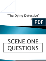 The Dying Detective Study Guide PowerPoint (1)