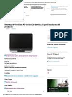 Desktop HP Pavilion 20-b002la®