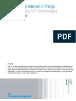 Enabling and Understanding Iot Technologies