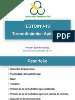 Apresentação do curso gilberto martins UFABC Termodinamica I