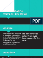 VOCABULARY - TERMS - DEFINED.pptx