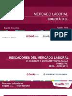 Presentación Bogotá Abr - Jun 18
