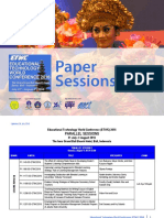 ETWC 2016 Paper Sessions Updated 26 July 2016