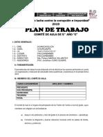 Plan de Tutoría Tercero