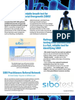 Sibo Practitioner Flyer