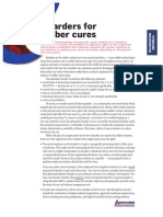 Retarders for Rubber Cures
