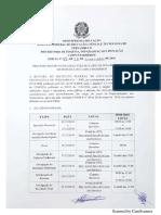 Edital de Especializacao Em Matematica Do Ifpe Barreiros