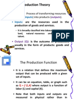 Production Theory Part 1