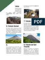10 Volcanes de Centro América