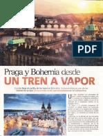 Praga y Bohemia, Tren a Vapor