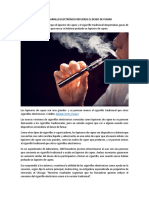 Ver Un Cigarrillo Electrónico Refuerza El Deseo de Fumar