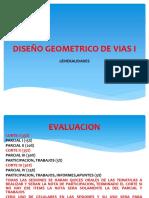 Generalidades Diseño Geometrico de Vias I-1