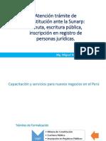 8 9 Atención Trámite de Constitución Ante La Sunarp Minuta Escritura Pública Inscripción en Registro de Personas Jurídicas