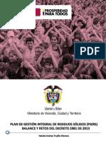 Planes de Gestion Integral de Residuos en Colombia (Minvivienda)-2981 de 2013