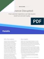 Medallia Insurance Disrupted Whitepaper