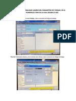 Instructivo Para Realizar Cambio Del Parametro de Torque en Variador Powerflex 7000 Faja 292500-Cv-002
