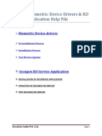 Secugen Help Document for Windows 7