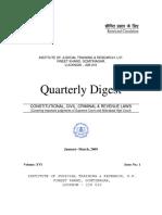 Digest Jan-mar 09