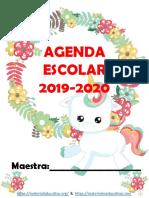 AgendaEscolarUnicornio19-20MEEP