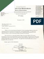 Whistleblower Disclosure