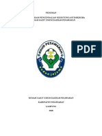 Pedoman Program Pengendalian Resisten Antimikroba