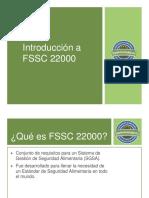 Introducción a FSSC 22000.