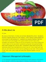 classroom management mat 670