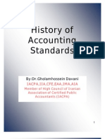 History of Accounting Standards
