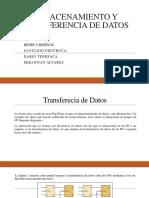 Almacenamiento y Transferencia de Datos