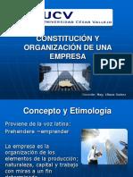 CONSTITUCIÓN Y ORGANIZACIÓN DE UNA EMPRESA (1).ppt