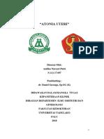 Referat Atonia Uteri Fix