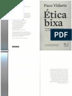 Paco Vidarte - Ética Bixa - 2019