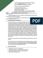 Carta 050 - Plan de Mantenimiento de Vias