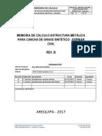 EDC-MJW-1711 Estructura Metálica Para Cancha de Grass Sintético - Espinar - RevC