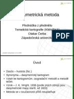 Tematická kartografie - Dasymetrické mapy