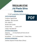 CV.paola Silva