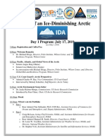Impacts of an Ice-Diminishing Arctic