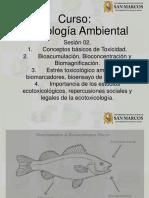 Sesión 02. Toxicología Ambiental