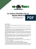 Ingenieros, Jose - La Cultura Filosofica En España.doc
