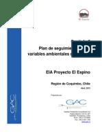 Plan de Seguimiento de Las Variables Ambientales Relevantes
