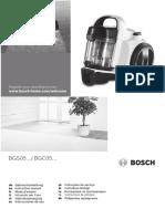Manual de Utilizare Aspirator Fara Sac Bosch Bgs05a220