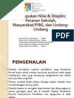 pemupukan nilai dan disiplin peranan sekolah, masyarakat PIBG dan undang-undang.pptx