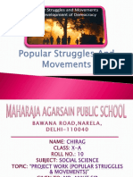 popular struggles and movements ppt