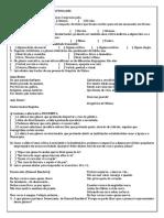 19268372 Exercicios Cronica Conto Intertextualidade Linguagem Verbal e Nao Verbal Pronomes Pessoais Indefinidos Acentuacao