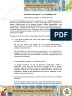 AA2 Evidencia Foro Imagen Personal